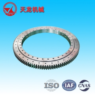 (01 series) Single Row Four Point contact ball Slewing Bearings - Outside Gear - 011.40.1000